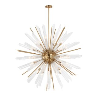 Mercer41 Atkins 41-Light Sputnik Chandelier