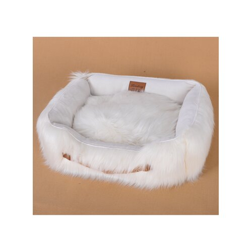 Faux Fur Luxury Dog Bed