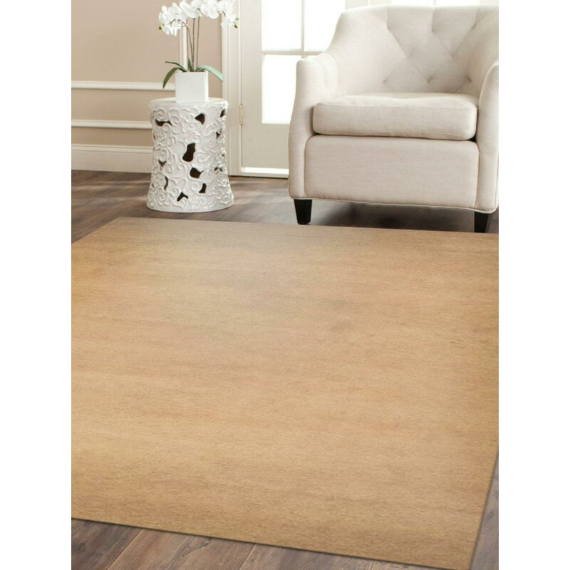 Latitude Run Kenshawn Hand Knotted Beige Area Rug Wayfair