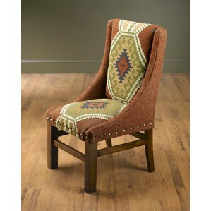 North End Kilim Parsons Side Chair by Bloomsbury Market