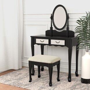 Brickyard Vanity Set with Mirror