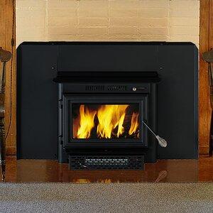 Wall Mount Wood Burning Fireplace Insert