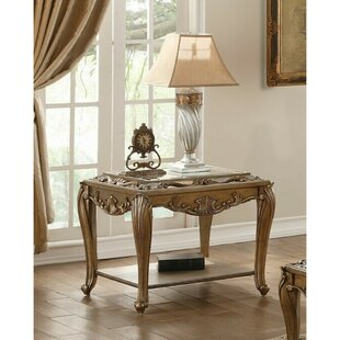 Astoria Grand Suttle Wooden End Table