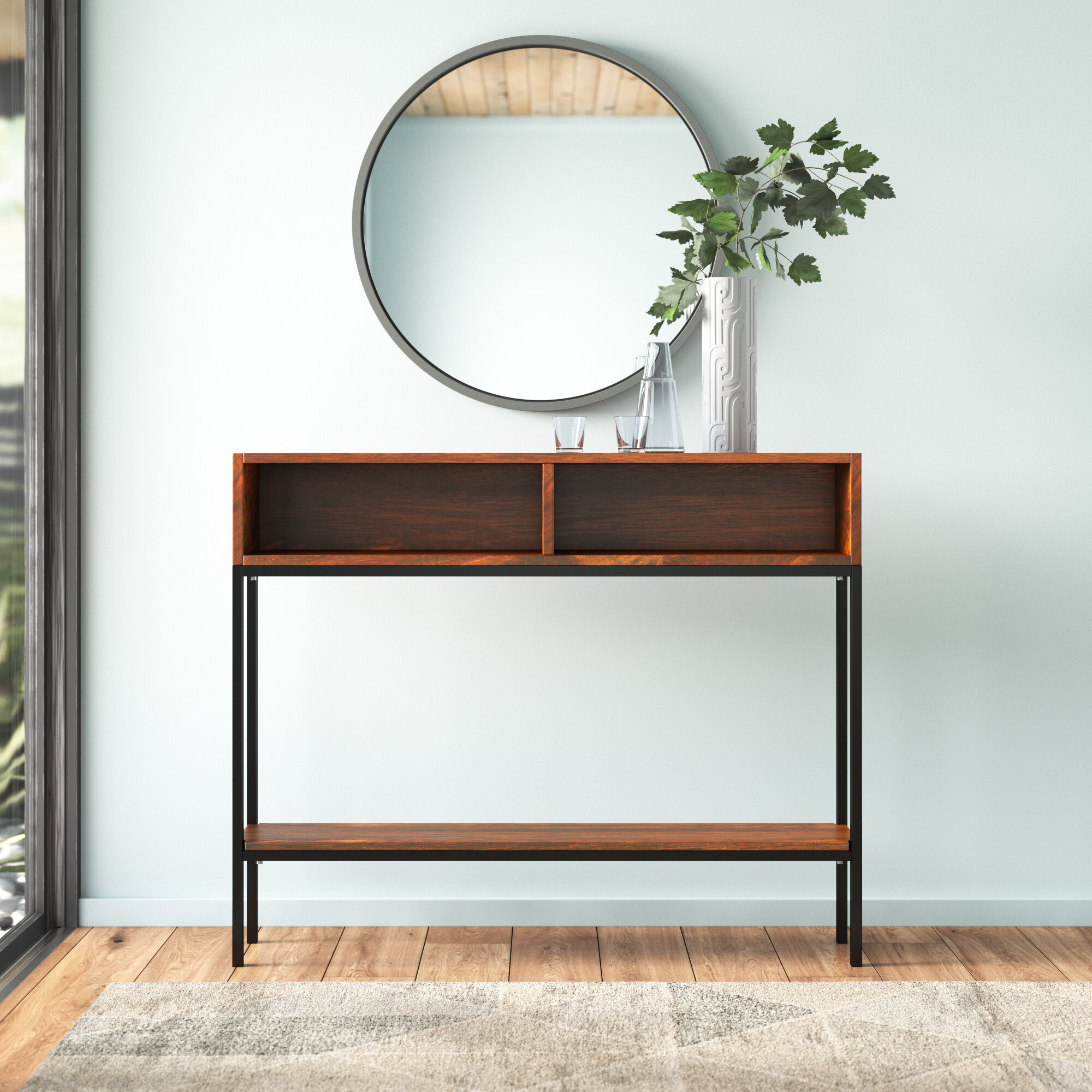 Marley 42 Solid Wood Console Table Reviews Allmodern