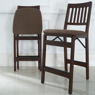 Emington Folding Barstools (Set of 2)