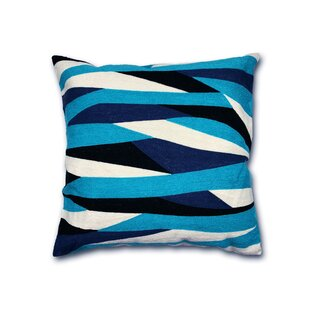Mousseau Handmade Abstract Indoor/Outdoor Cotton Throw Pillow