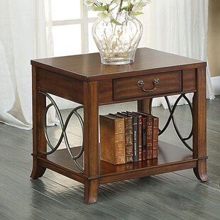Reviews Elena End Table by A&J Homes Studio