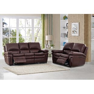 Anvi 2 Piece Reclining Living Room Set by