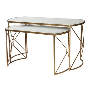 Viceroy Nested 2 Piece Nesting Coffee Table