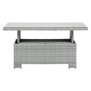 Safire Aluminium And Rattan Dining Table By Sol 72 Outdoor