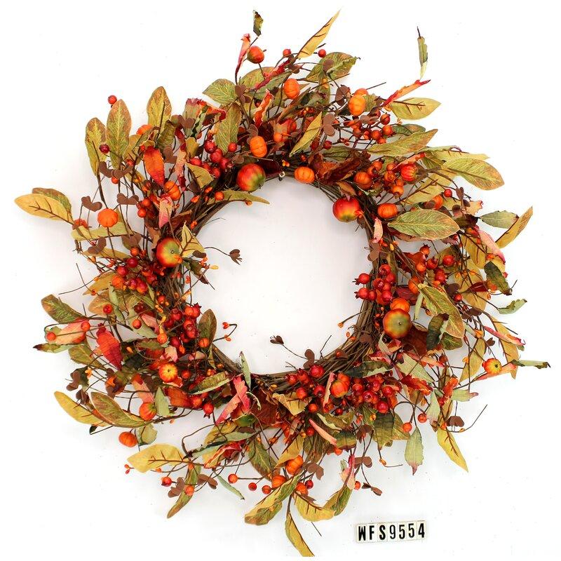 "19"" Silk Wreath"