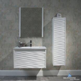 Artesian 30 Single Bathroom Vanity Set with Mirror by Ivy Bronx