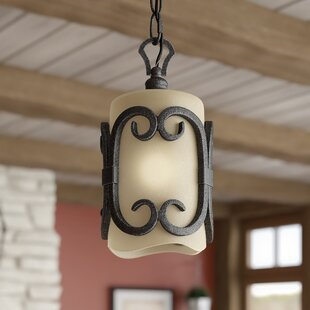Cowan 1-Light Cylinder Pendant by Loon Peak