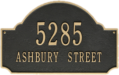 Monogram Address Plaques & Signs