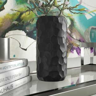 Turtle Shell Ceramic Round Table Vase