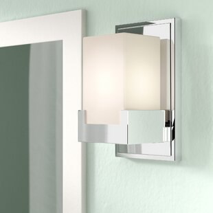 Suffield 1-Light LED Bath Sconce By Latitude Run