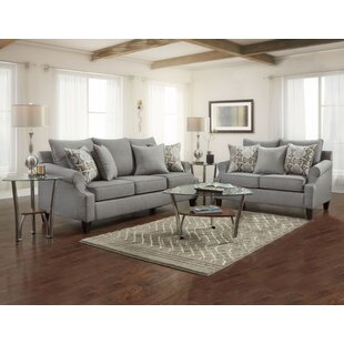Bargain Jaeden Configurable 2 Piece Living Room Set by Latitude Run Reviews (2019) & Buyer's Guide