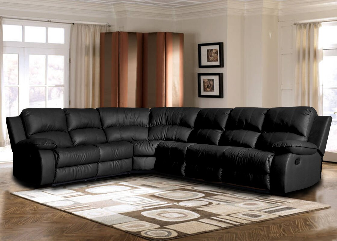 Kelleys Island Classic Reclining Sectional : reclining sectional with chaise - islam-shia.org