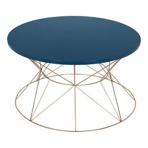 galien round metal coffee table