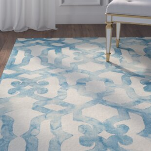 Farragutt Hand-Tufted Ocean Area Rug By Willa Arlo Interiors