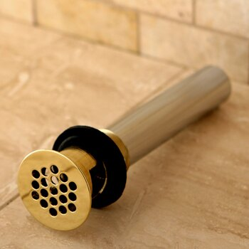 Permanent Solid 1 25 Grid Shower Drain