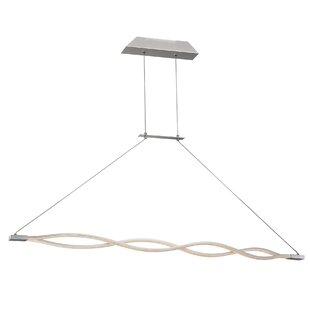 Orren Ellis Hanson 1-Light LED Pendant