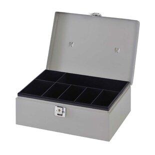 Buddy Products Metal Cash Box
