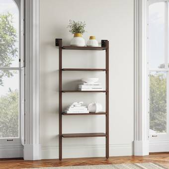 Vioria 79 5 H X 34 W Solid Wood Standard Bookcase Reviews Joss Main