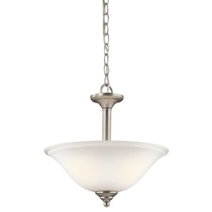 Alcott Hill Guerro 2-Light Bowl Pendant