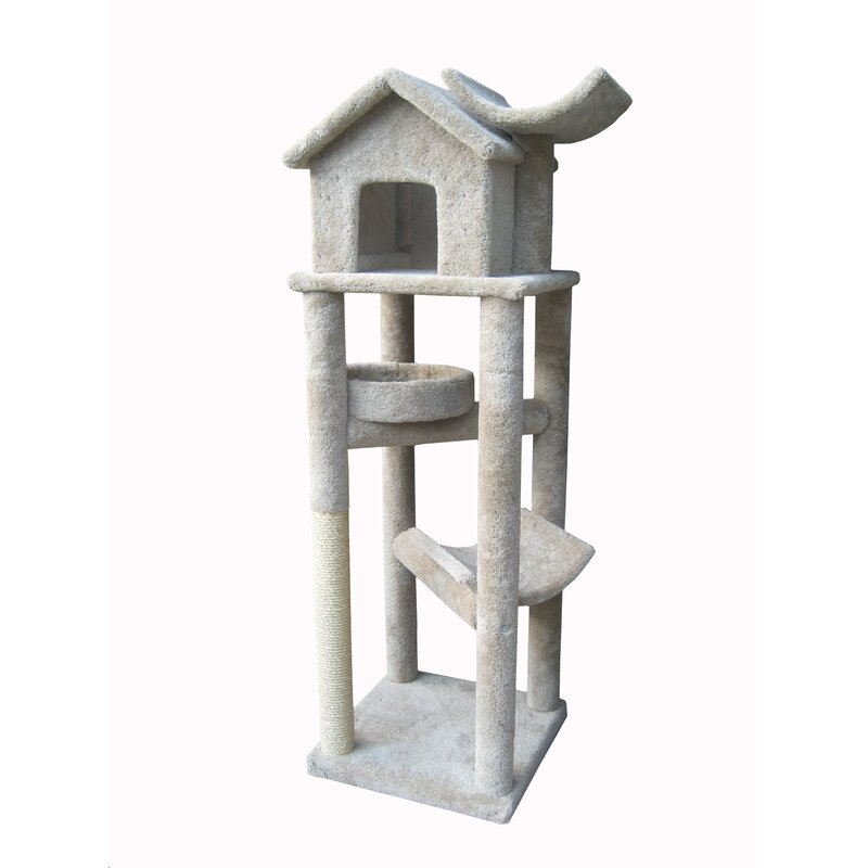 Awe Inspiring 76 The Tree House Cat Tree Download Free Architecture Designs Scobabritishbridgeorg