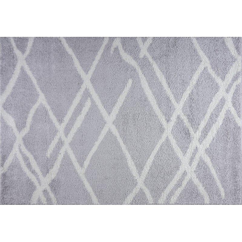 Wrought Studio Calana Geometric Gray Area Rug Wayfair