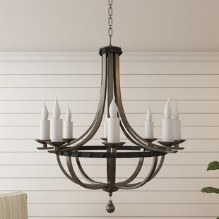 Laurel Foundry Modern Farmhouse Wilburton 8-Light Empire Chandelier