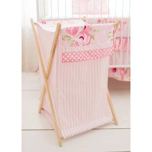 Find Sweat Rosebud Laundry Hamper ByHarriet Bee