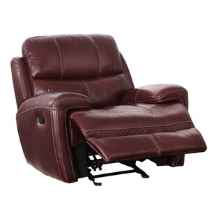 Read Reviews Chasse Leather Power Glider Recliner by Red Barrel Studio Reviews (2019) & Buyer's Guide