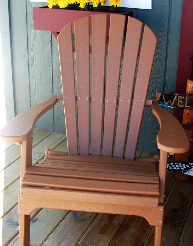 Default NameBuyers Choice Phat Tommy Folding Recycled Poly Adirondack Chair