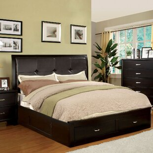 Lauria Upholstered Storage Platform Bed