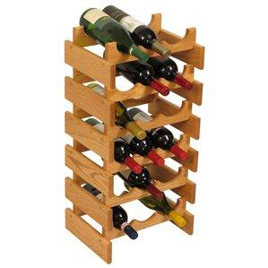 Dakota 18 Bottle Floor Wine Rack by Wooden Mallet