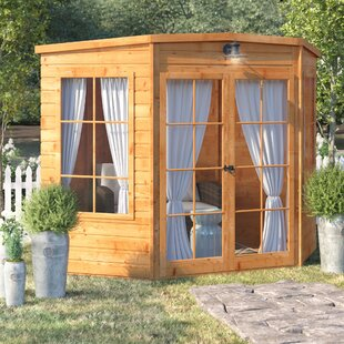 8 X 8 Ft. Shiplap Summer House By Sol 72 Outdoor