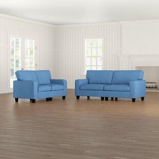 Jayapura 2 Piece Living Room Set by Alcott Hill