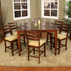 Este 7 Piece Counter Height Pub Set by American Heritage
