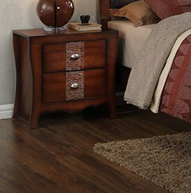 Merrill 2 Drawer Nightstand