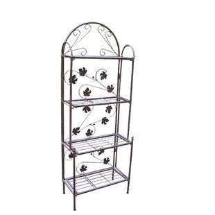 Red Barrel Studio Lavone Steel Baker's Rack