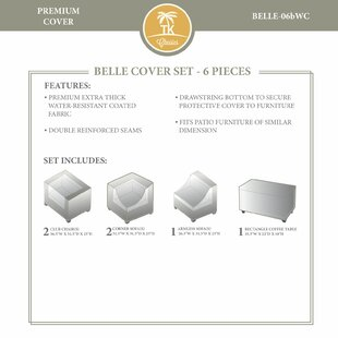 TK Classics Belle Winter 6 Piece Cover Set