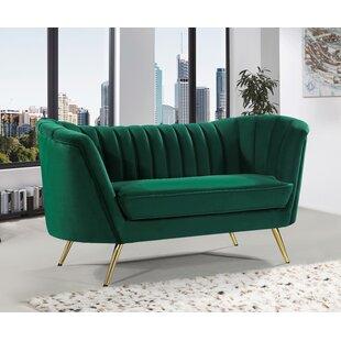 Olive Green Loveseat | Wayfair