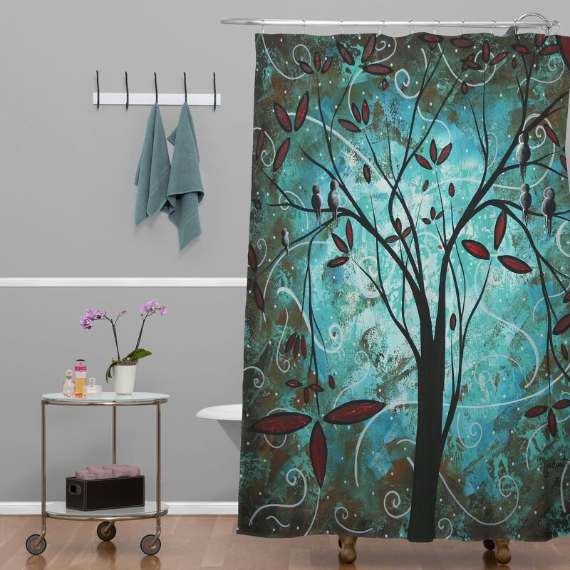 Deny Designs Madart Inc Romantic Evening Single Shower Curtain Reviews Wayfair