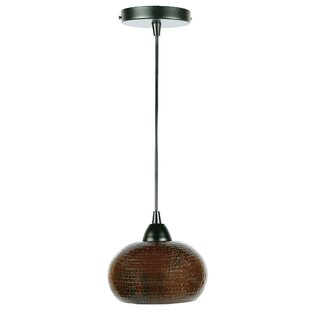 1-Light Globe Pendant by Premier Copper Products