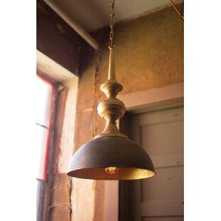 Mahmoud 1-Light Dome Pendant by Bloomsbury Market