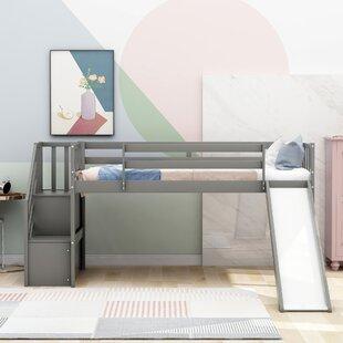 Diamondville Twin Low Loft Bed