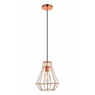 Bargain Mullikin 1-Light Geometric Pendant By Wrought Studio