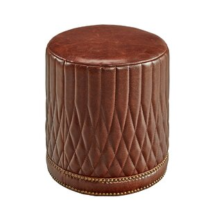 Mcfarlane Leather Pouf